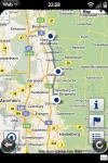 Karte einer Route im Staufer Guide